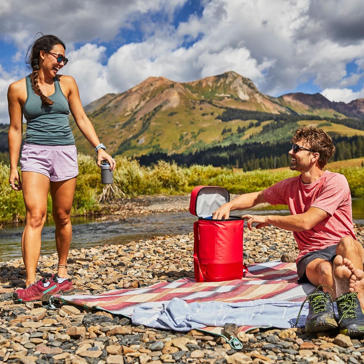 15L Soft Cooler Rucksack Lifestyle-Bild