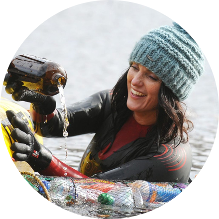 As a current adventure activist, Laura Sanderson is embracing the refilling revolution by joining Hydro Flask to #RefillForGood.